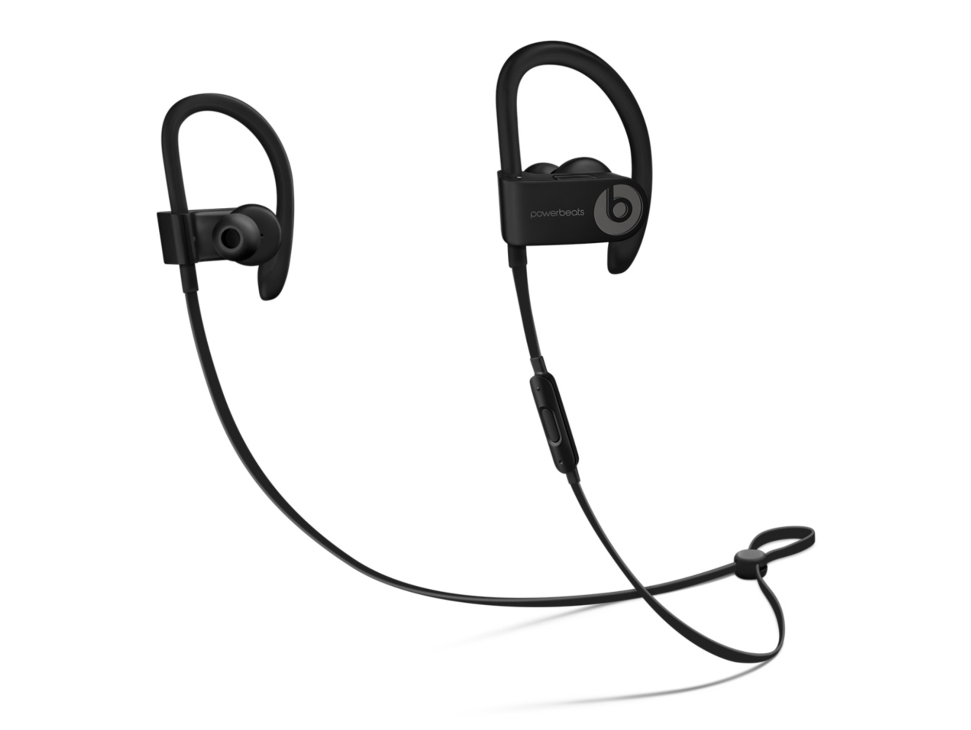 Auriculares Bluetooth BEATS Powerbeats 3 (In ear Micrófono Noise canceling Atiende llamadas Negro)