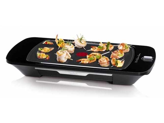 Plancha de asar tefal sabores cb445001 worten for Amazon planchas de cocina