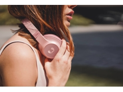 Auriculares Inalámbricos FRESH 'N REBEL Clam (On ear - Micrófono - Rosa) — Bluetooth | Hasta 30 horas