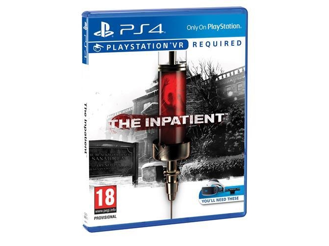 PS4 VR The Inpatient — Acción/Terror | Edad mínima recomendada: 18