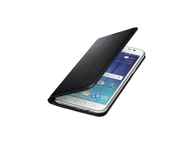 Funda Samsung Galaxy J5 2015 Flip Negro Worten Es