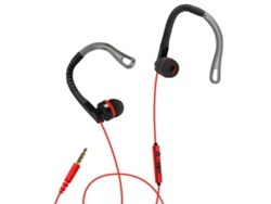 Auriculares con cable SBS Sport Runway rojo c1e21937071b
