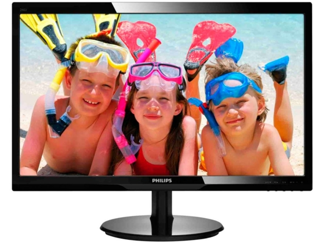 """Monitor Led 24"""" PHILIPS 246V5LSB"""