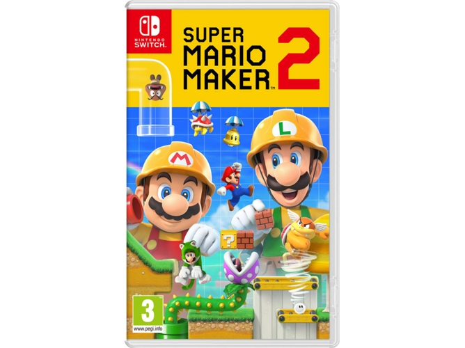 Juego Nintendo Switch Super Mario Maker 2 (M3)