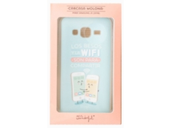Carcasa MR WONDERFUL para SAMSUNG J3 Besos