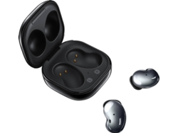 Auriculares Bluetooth True Wireless SAMSUNG Galaxy Buds Live (In Ear - Micrófono - Negro)