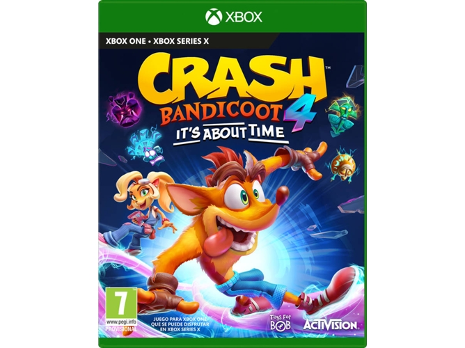 Juego Xbox One Crash Bandicoot 4 It´s about time (Aventura - M7)