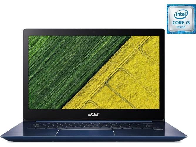 Portátil Reacondicionado ACER Swift 3 SF314-52-37DK (Grado C - 14'' - Intel Core i3-7100U - RAM: 8 GB - 128 GB SSD - Intel HD 620)