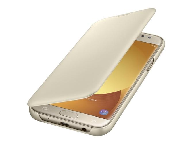 Funda Samsung Galaxy J5 2017 Wallet Dorado Worten Es