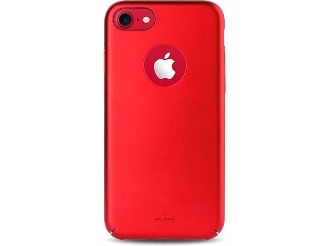 9d7675d476a Carcasa iPhone 7, 8 PURO Magnet Rojo