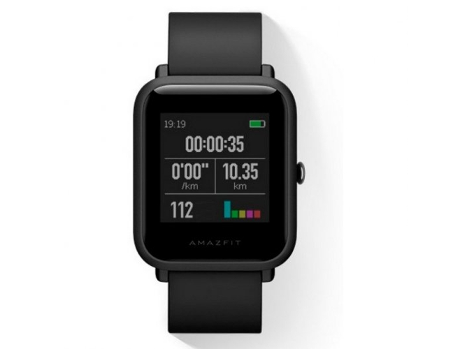Smartwatch XIAOMI Amazfit Bip Negro — Bluetooth 4.0 y Wi-Fi | 280 mAh | Android e iOS