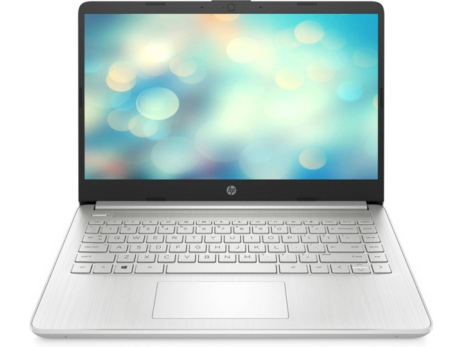 Portátil HP 14S-DQ1032NS (14'' - Intel Core i3-1005G1 - RAM: 8 GB - 256 GB SSD PCIe - Intel UHD Graphics)