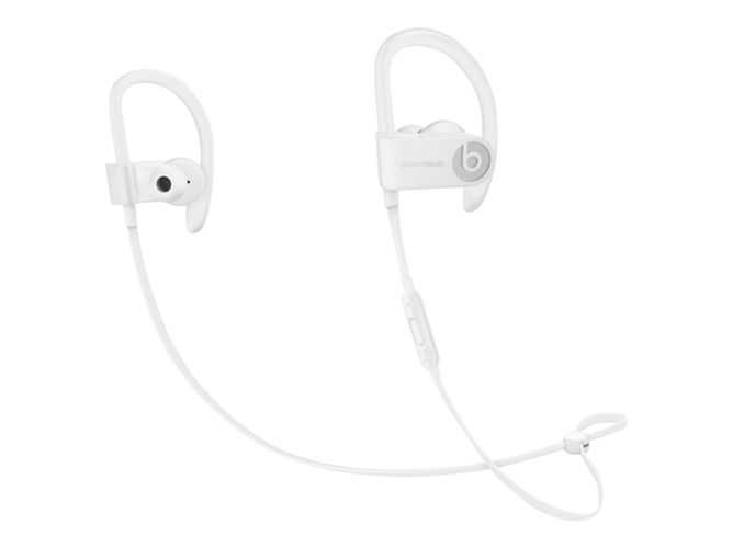 Auriculares Bluetooth BEATS Powerbeats 3 (In ear - Micrófono - Noise canceling - Atiende llamadas - Blanco)
