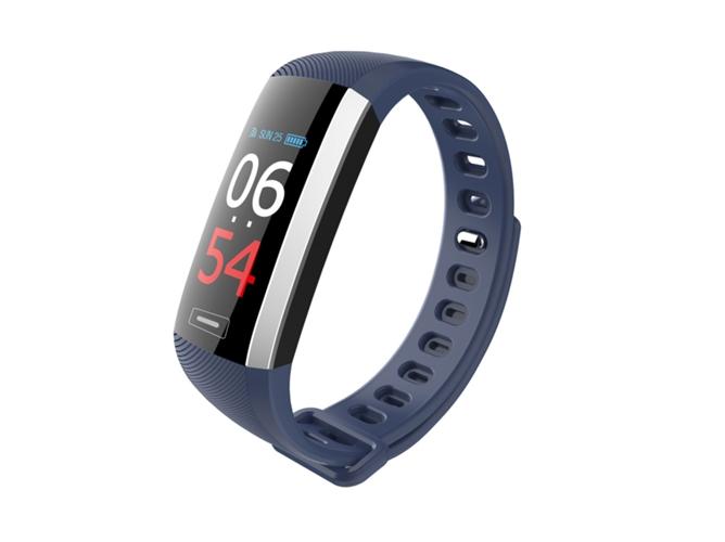 714c71f55 Pulsera de actividad LEOTEC Fitness Color Health (Bluetooth - Hasta 5-7  días de autonomía - Resistente al agua - Azul)