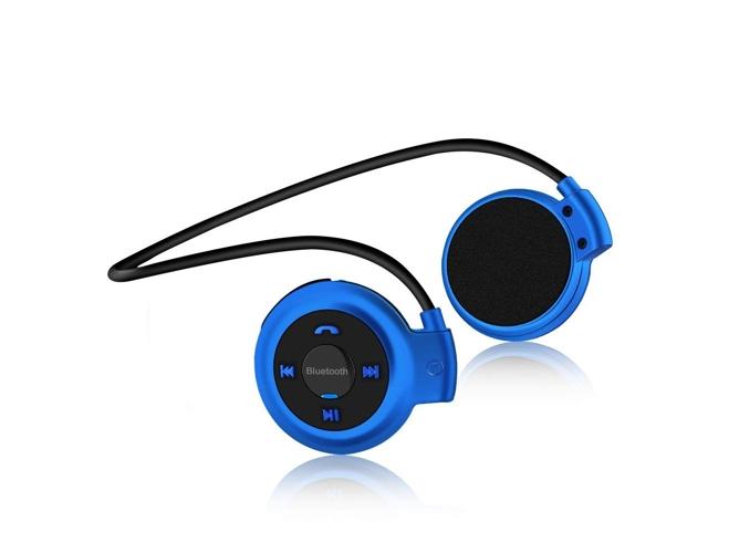 Auriculares Bluetooth KLACK Desportivo SD (Azul)