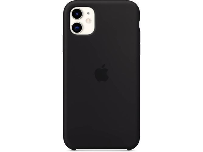 Carcasa APPLE iPhone 11 Silicona Negro