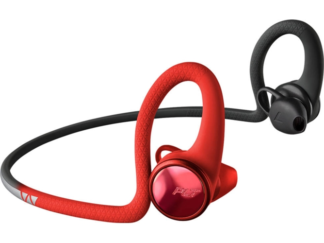 Auriculares Bluetooth PLANTRONICS BackBeat Fit 2100 (Rojo)
