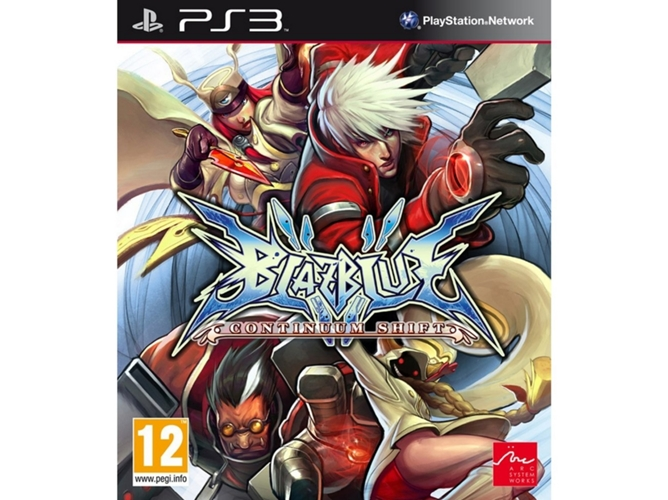 Juego PS3 BlazBlue Continuum Shift