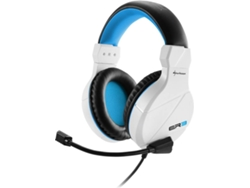 Auriculares gaming SHARKOON Rush ER3 blanco