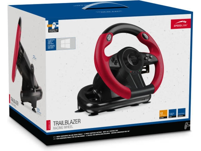 Volante SPEED LINK Trailblazer para PC/PS4/Xbox One/PS3 — PC - PS4 - Xbox One - PS3