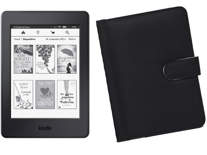 E book kindle paperwhite 4 gb funda negra worten - Kindle funda ...