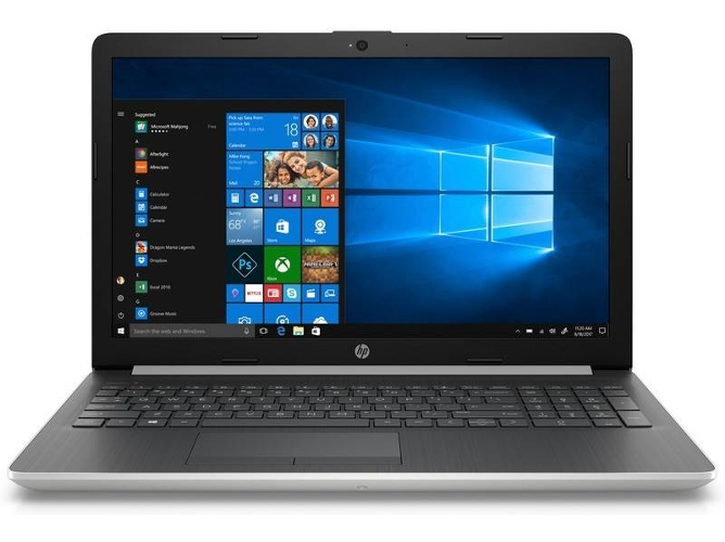 Portátil HP 15-DB0080NS - 6EN59EA (15.6'' - AMD A9-9425 - RAM: 8 GB - 256 GB SSD - AMD Radeon R5) — Windows 10 Home | HD