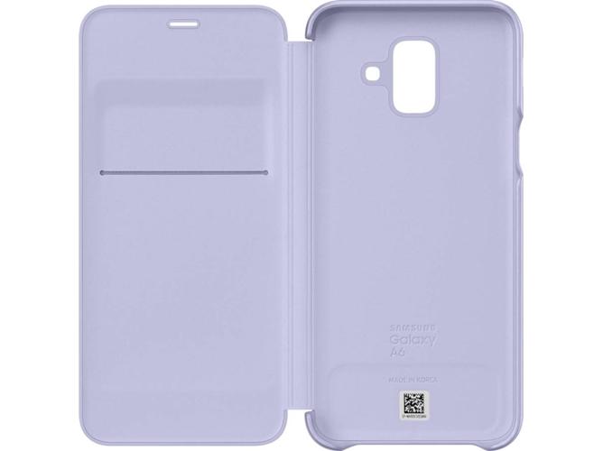 2f13c5908b7 Funda SAMSUNG Galaxy A6 Wallet Violeta - WORTEN
