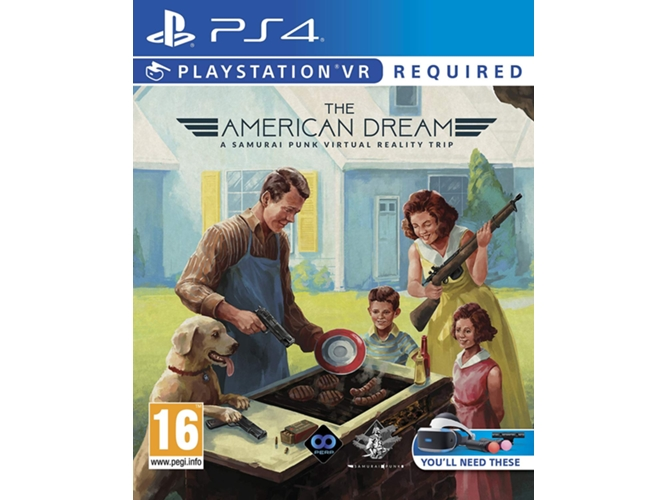 Juego PS4/PS VR The American Dream: VR  Edition