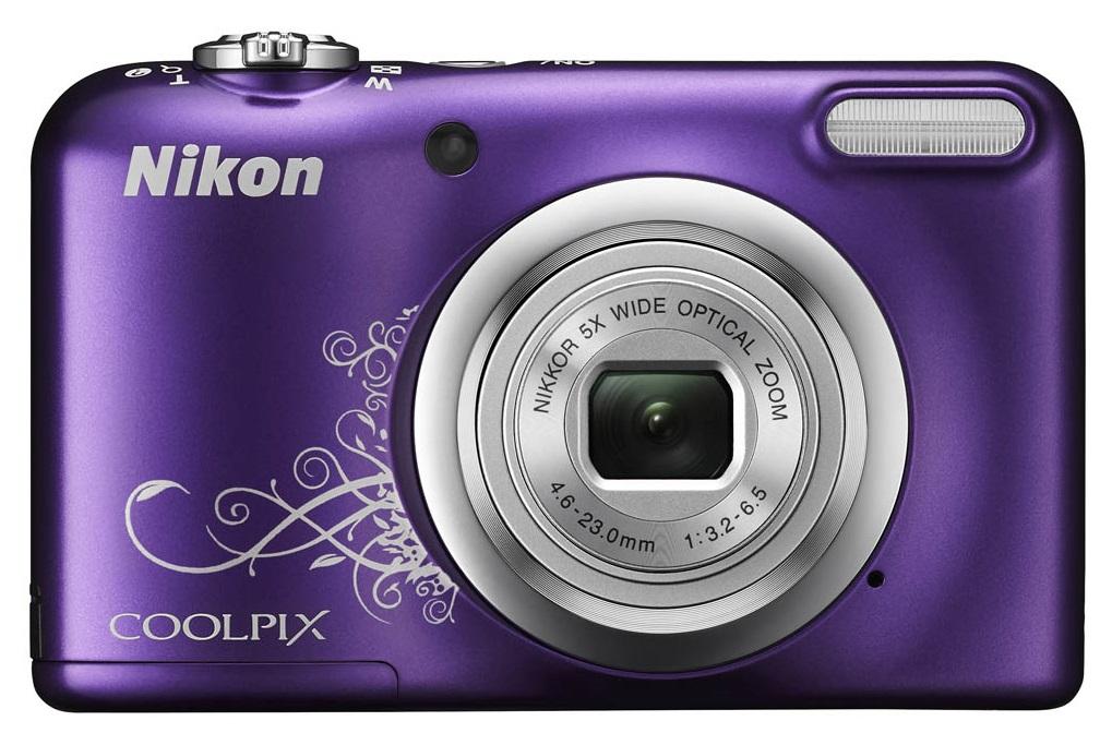Camara-Compacta-NIKON-Coolpix-A10-Violeta-Estuche-16-1MP-CCD-W5X-2-7-039-039-HD