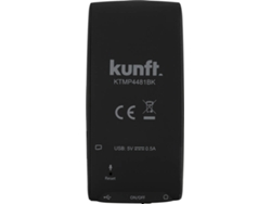 Reproductor MP4 KUNFT M581 (Negro - 4 GB)