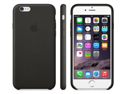 Funda iPhone 6  Plus Piel Negra