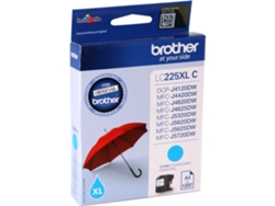 Tinta BROTHER LC225XL Azul