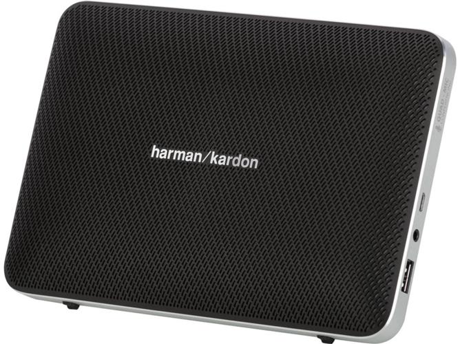 Altavoz Bluetooth HARMAN Kardon Esquire 2 Bk (Negro - 16 W -  Autonomía: hasta 8 h)