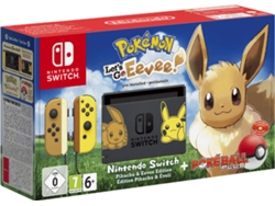 Consola Nintendo Switch Pokémon: Let's Go, Eevee + PokéBall Plus