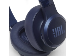 Auriculares Bluetooth JBL LIVE 500 (Over ear - Micrófono - Azul)