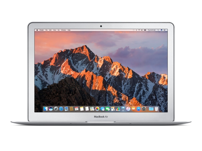 MacBook Air APPLE MQD32 Plata 2017 (13.3'' - Intel Core i5 - RAM: 8 GB - 128 GB SSD - Intel HD 6000) — OS Sierra | HD