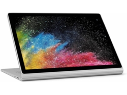 MICROSOFT Surface Book 2 - HN4-00028 (13.5'' - Intel Core i7-8650U - RAM: 8 GB - 256 GB SSD - NVIDIA GeForce GTX 1050) — Windows 10 Pro | QHD
