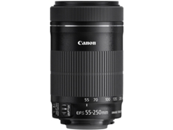 Objetivo CANON Ef-S 55-250 4-5.6 Is Stm (Encaje: Canon EF-S - Apertura: f/4-5.6 - f/22-32)