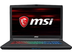 Portátil Gaming 17.3'' MSI GF72 8RE-047ES (i7, RAM: 16 GB, Disco duro: 1 TB HDD + 256 GB SSD)