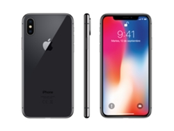 iPhone X APPLE (5.8'' - 3 GB - 64 GB - Gris Espacial)