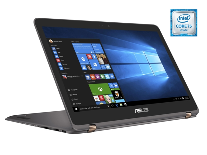 c804cead914 Portátil Convertible 2 en 1 ASUS ZenBook Flip UX360UAK-C4280T 13.3 ...