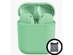 Auriculares Bluetooth True Wireless KLACK InPods 12 (In Ear - Verde)