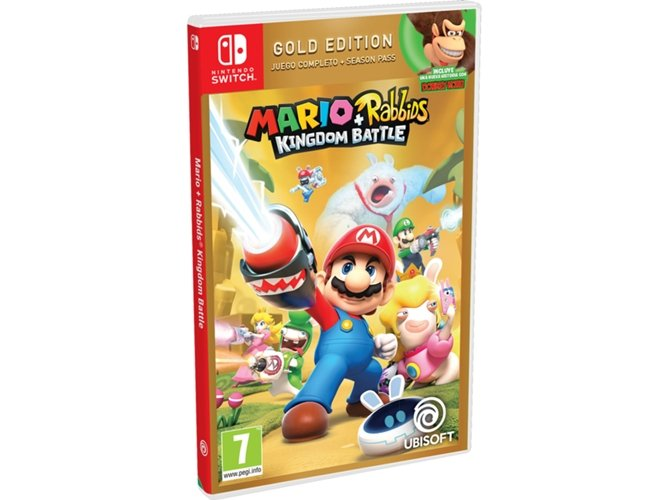 Juego Nintendo Switch Mario Rabbids Kingdom Battle Gold Edition Worten