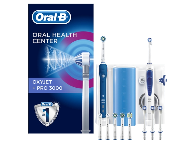 Centro Dental ORAL B PC 3000 e irrigador Oxyjet