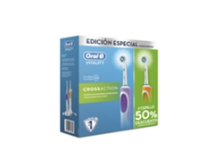 Cepillo Dental Duo ORAL B Vitality Cross Action 2016