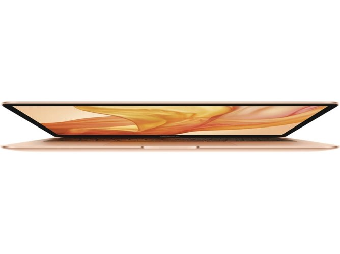 MacBook Air 2019 APPLE Oro - MVFN2Y/A (13.3'' - Intel Core i5 - RAM: 8 GB - 256 GB SSD PCle - Intel UHD 617) — macOS | QHD