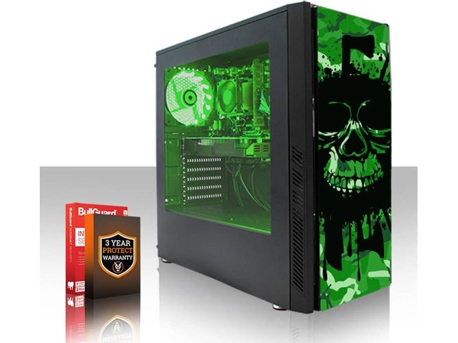 PC Gaming FIERCE Exile - 432253 (AMD FX-8370, 1 TB HDD, RAM: 16 GB, NVIDIA GeForce GTX 1650) — Sin Sistema Operativo | WiFi