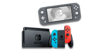 Consolas NINTENDO Switch Lite a 204,99€ y Switch V2 a 304,99€
