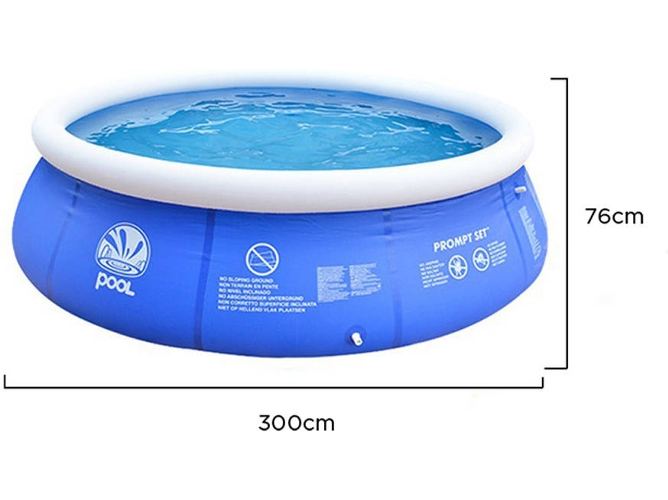 Piscina Hinchable JILONG (240x76cm)