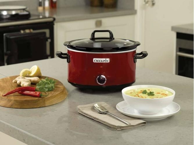 M quina de cocinar slow cooker 3 5l crockpot scv400rd 050 - Maquina de cocinar ...